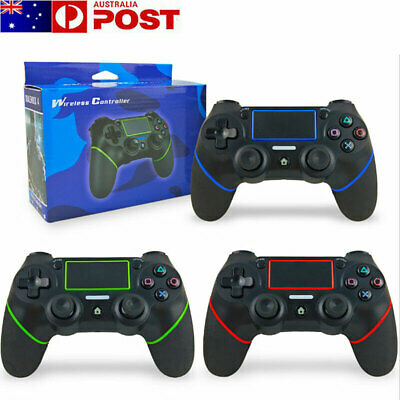 AU53.99 • Buy For PS4 Wireless Bluetooth Dual Shock Controller Gamepad Joystick PlayStation 4