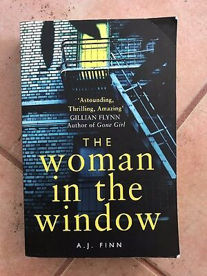 AU24 • Buy The Woman In The Window By Aj Finn - Great Book - Great Read - Cheap