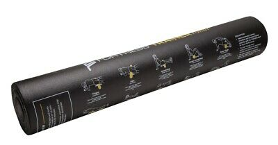 AU84.95 • Buy Fortress Trainer Round Foam Roller (90 X 15cm) -15 Physio Exercise Printed On It