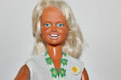 $23.99 • Buy Vintage Kenner Dusty Doll 1974 With Tennis Shoes And Extra Outfit Tagged