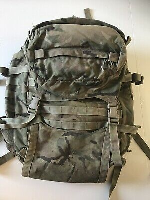 Genuine British Army Issue MTP 40 Litre Daysack!grade 1! Very Good Condition! • 34.95£