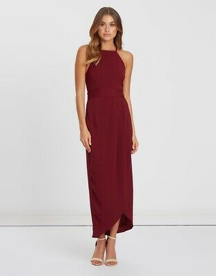 AU40 • Buy Size 10 Chancery Tessie Pleated Dress (Bridesmaid/Cocktail)