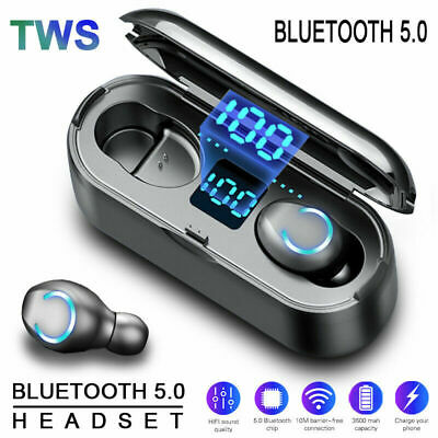 $ CDN11.86 • Buy Bluetooth 5.0 Headset TWS Wireless Earphones Mini Earbuds Stereo Dual Headphones