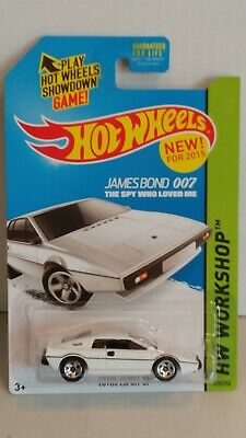 $ CDN4 • Buy Hot Wheels  Lotus Esprit S1  James Bond 007~~hw Workshop Series~~mint On Card