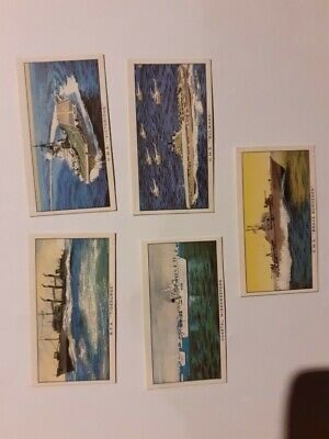 Kellogg Company  Ships Of The British Navy   5  Cards • 0.99£