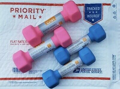 $ CDN38.20 • Buy CAP Neoprene Hex Dumbells Weights (SET Of 2 Lb. And 3 Lb. Pairs) FREE PRIORITY!