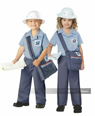 $32.99 • Buy US Mail Carrier - Postman - Postal Carrier - Costume - Child - 2 Sizes