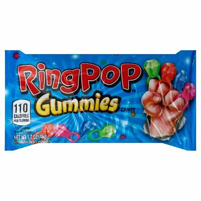 Ring Pop Gummies, Soft And Chewy | American Candy And Sweets • 5.50£