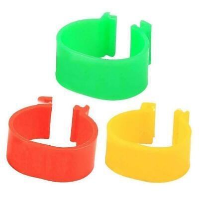£3.76 • Buy 100pcs Clip On Leg Band Rings For Chickens Ducks Hens Pheasan Fowl Poultry Q8V9