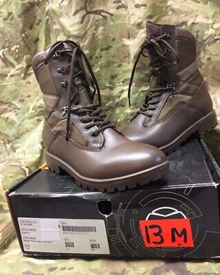Yds Mens Brown Leather Kestrel Combat Patrol Boots Sizes New Gen British Army  • 45£