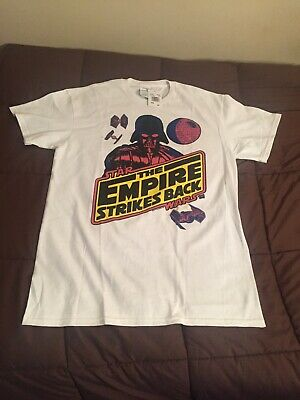 $10 • Buy Star Wars The Empire Strikes Back Vader Colorful Graphic T-Shirt Size Medium NWT
