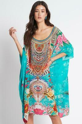 AU176 • Buy Czarina  Once In A Blue Moon  Round Neck Short Kaftan