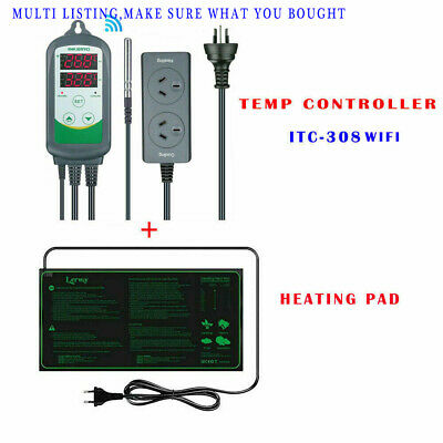 AU62.99 • Buy Inkbird ITC-308 Temp Controller Thermostat  Homebrew Seed Starter Heating Pad