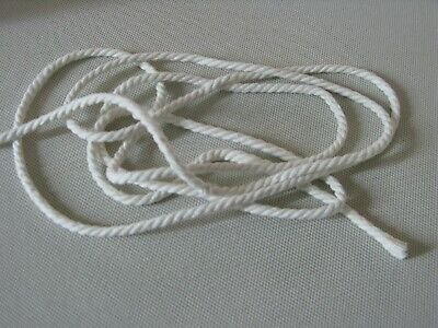 10 Mt Of 6mm Cotton Piping Cord (Natural) - Upholstery Cushions / Crafting • 4£