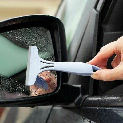 Mini Squeegee - Perfect For Glass, Windows, Shower, Tiles, Car, Mirror Wiper • 6.99£
