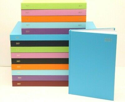 £7.99 • Buy 2021 A5 Or A4 'week To View Or Day A Page' Hardback & Casebound Diary & Planner.