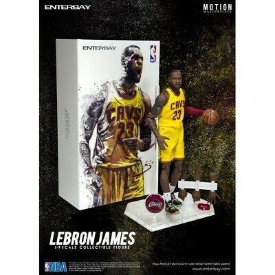 $230 • Buy Enterbay 1/9 Motion Lebron James NBA Cavaliers New Little Corner Box Tear