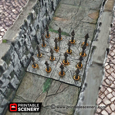 AU33.91 • Buy DnD Terrain All Dungeon Traps OpenLock Tiles, D&D, Dungeons And Dragons, 28mm