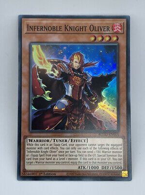 AU3.49 • Buy Infernoble Knight Oliver - ROTD-EN014 - Super Rare 1st Edition YuGiOh Card Mint
