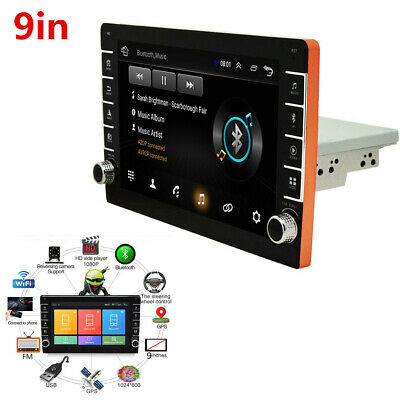 $143 • Buy Android 8.1 Touch Screen Stereo Radio MP5 Player Kit GPS/Wifi/FM/USB Fit For Car