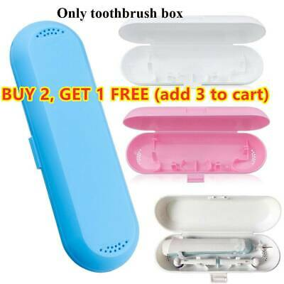 AU8.73 • Buy Cover Protective Box Storage Holder Electric Toothbrush Case For Oral-B