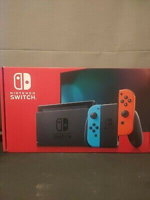 AU380 • Buy Nintendo Switch 32GB Home/Handheld Console With Neon Blue And Neon Red Joy-Con …