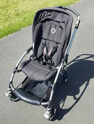 Bugaboo Bee With Black Hood And Parasol • 125£