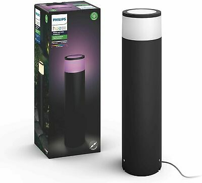 AU185 • Buy Philips Hue White And Colour Ambience Outdoor Extension Pedestal Calla  RRP $219