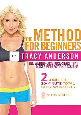 Tracy Anderson The Method For Beginners DVD Workout Fitness  • 2.99£