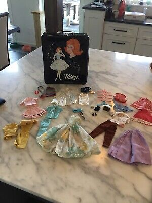 $ CDN40.95 • Buy Large Lot Vintage Barbie Clothes Accessories Midge Case Many With Tags!