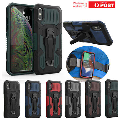 AU13.99 • Buy Huawei Mate 30 Pro Y9 Y7 Y6 Y5 Prime 2019 Shockproof Belt Clip Case Stand Cover