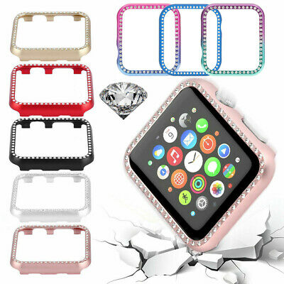 $ CDN10.52 • Buy For Apple Watch Case Cover Protective Frame Shell For IWatch Series 5/4/3/2/1