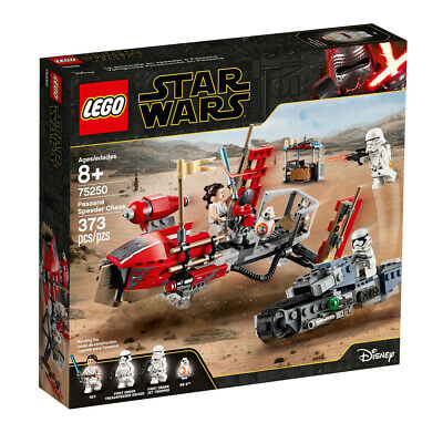 AU60 • Buy LEGO Star Wars 75250 Pasaana Speeder Chase, Used, 100% Complete