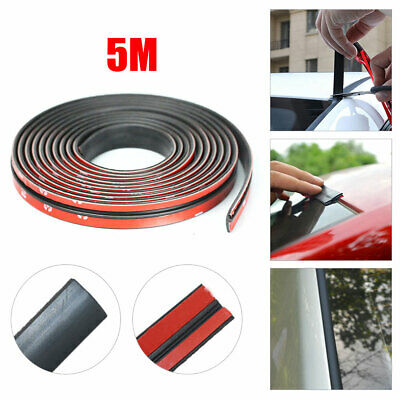 5m Car Windshield Roof Rubber Insulation Seal Strip Edge Protector Sealing Trim • 9.45£