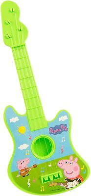 Kids Peppa Pig Guitar Children's Musical Toy - Colors May Vary - FAST SHIPPING • 7.99£
