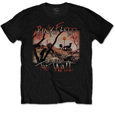 £13.99 • Buy Pink Floyd The Wall Fields Roger Waters Rock Official Tee T-Shirt Mens