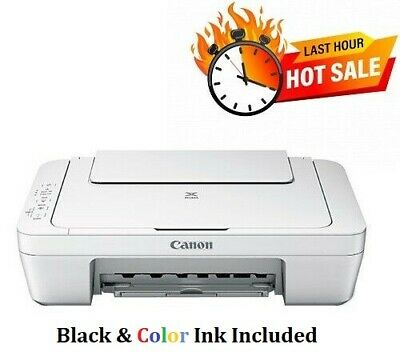 View Details NEW Canon PIXMA MG2522 Wired All-in-One Color Inkjet Printer Cable&Ink Included  • 54.98$