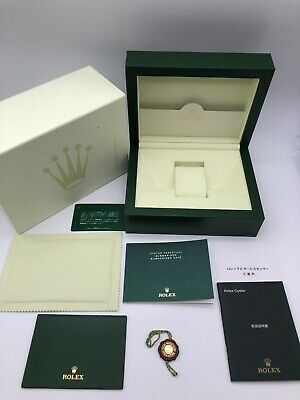 $ CDN185.54 • Buy Rolex Genuine Submariner Date Watch Box Case 39141.02 Large Booklet Tag 0809009