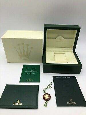$ CDN174.87 • Buy Rolex Genuine Submariner Date Watch Box Case 30.00.02 Small Booklet Tag 0809010