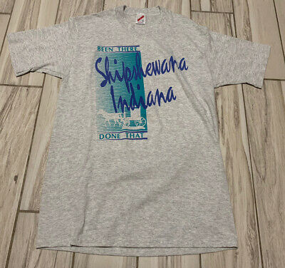 $ CDN26.69 • Buy Vintage 80's Been There Done That Shipshewana Single Stitch T Shirt Size Large