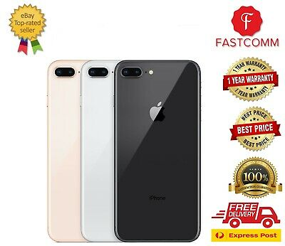 AU567 • Buy Brand New Apple IPhone 8 PLUS 64/256GB Silver, Grey, Gold, Red UNLOCKED AU Sell