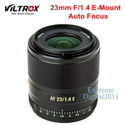 AU488.71 • Buy Viltrox 23mm F1.4 AF Large Aperture APS-C Lens For Sony E A6400 A6300 A7 NEX-7 5