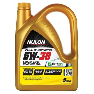 AU51 • Buy Nulon 5W-30 5 Litre Long Life Full Synthetic Car Engine Oil - All Models