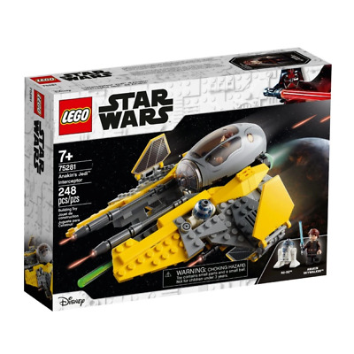 AU44.99 • Buy LEGO 75281 Star Wars Anakins Jedi Interceptor Brand New Sealed