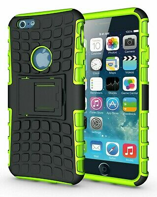 AU6.66 • Buy For IPhone 6+/6S+ Green Rugged Tough Protection Tradesman Heavy Duty Case Cover