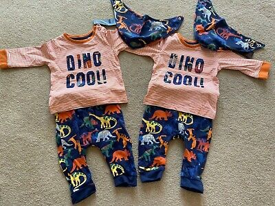 Bundle Of Twin Baby Boys Clothing Size 3-6 Months • 20£