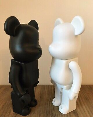 $40.21 • Buy Bearbrick Action Figure Ornament Toy Collection 28CM (BLACK&WHITE)