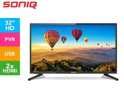 AU199 • Buy SONIQ 32 Inch TV E32V17A-AU LED LCD HD HDMI Record Built-in PVR Remote -NEW