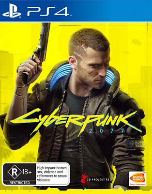 AU105 • Buy Cyberpunk 2077 Day One Edition PS4 Game NEW PREORDER 10/12