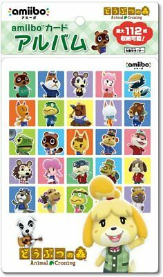 AU50.46 • Buy Animal Crossing Amiibo Card Album 112 Cards Can Be Stored Made In Japan